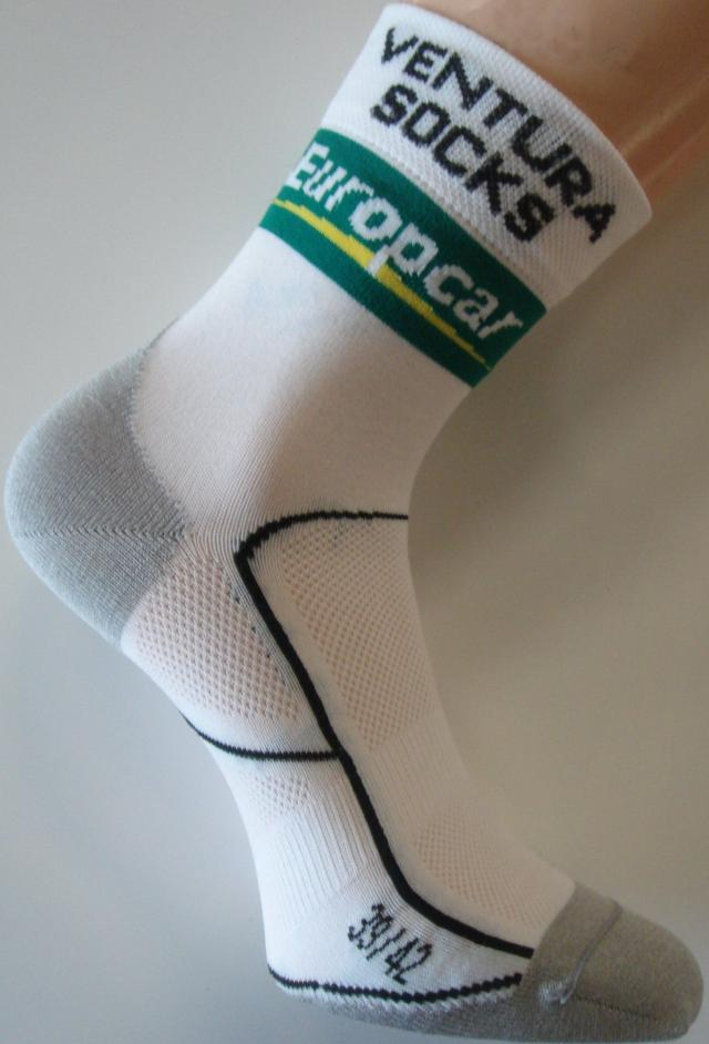 Les chaussettes Team EUROPCAR Made In Aube